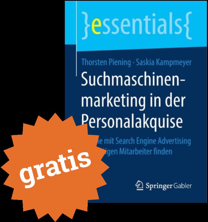 Fachbuch Suchmaschinenmarketing in der Personalakquise